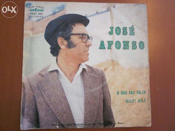 Vinil - José Afonso (O que faz falta)