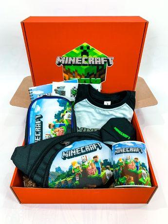 Minecraft Box - Подарочный набор Майнкрафт Бокс - футболка бананка пен