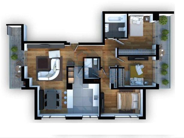 Apartamento T3 NOVO em Odivelas