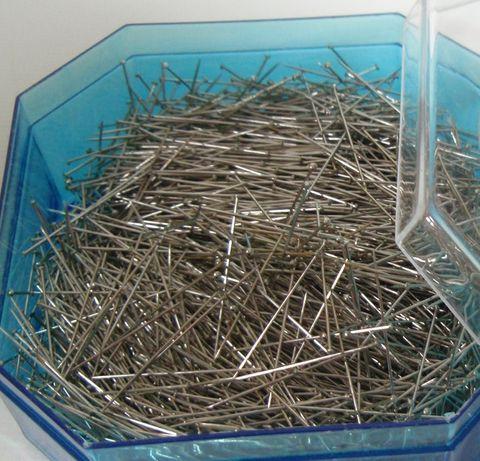 Alfinetes de aço temperado para costura