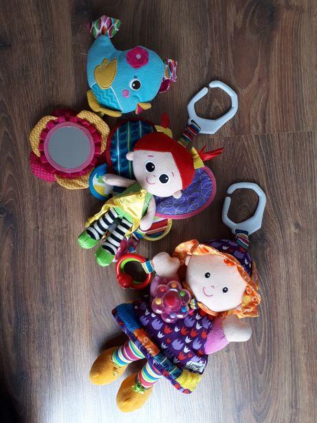 Zestaw zawieszek do wózka zabawek dla niemowlaka