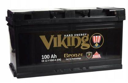 AKUMULATOR VIKING 12V 100Ah 850A mocny akumulator ciągnik tir