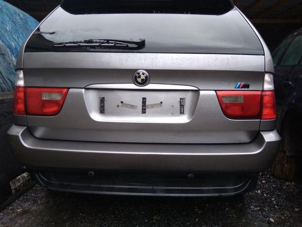 Крышка багажника BMW X5 E53 верхняя ляда нижняя БМВ Х5 Е53 верхня