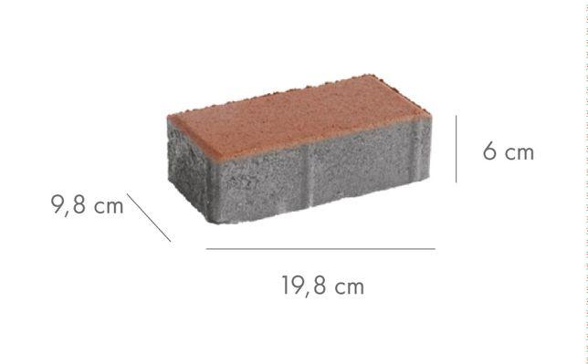 Kostka brukowa betonowa Libet Prostokąt grubość 6cm