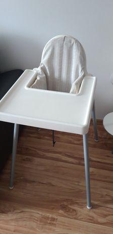 Krzesełko do karmienia Ikea Antilop + wkładka z pokrowcem