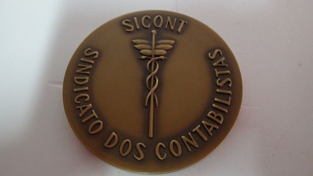 Medalha de bronze sindicato dos contabilistas