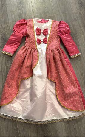 Vestido princesa 6/7 anos como novo