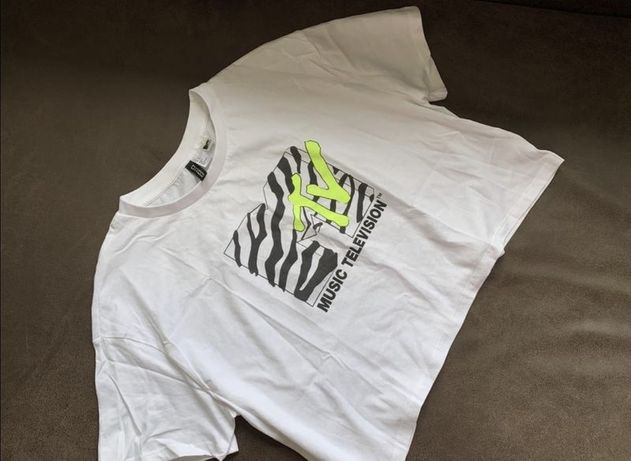 Кроп-топ,футболка MTV от H&M