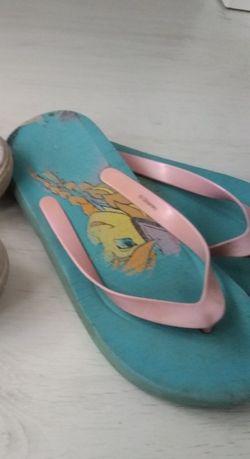 Japonki ok.34+sandałki 35