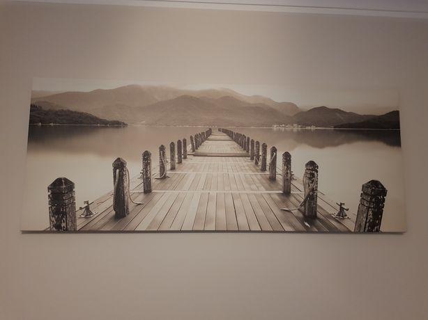 Obraz na płótnie Canvas 60x150 Molo