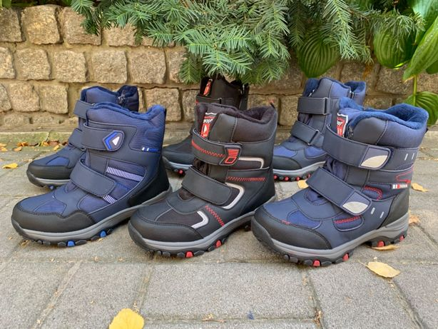 35,36,37,38,39,40,41р  новые термо ботинки на мальчика зимние днепр