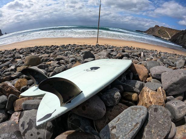 Prancha surf twinfin chilli sugar 5'4
