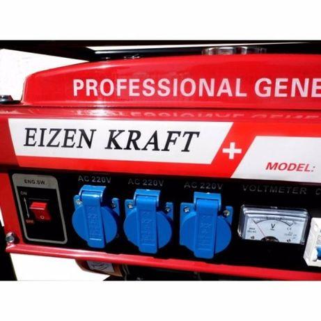 Генератор бензиновый Eizenkraft 4 кВт (магазин, гарантия 1 год)