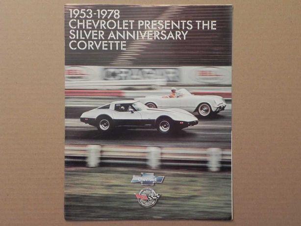 Prospekt - CHEVROLET CORVETTE C3 - 1978 r