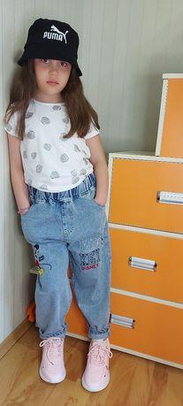 Мега крутые джинсы МоМ девочке