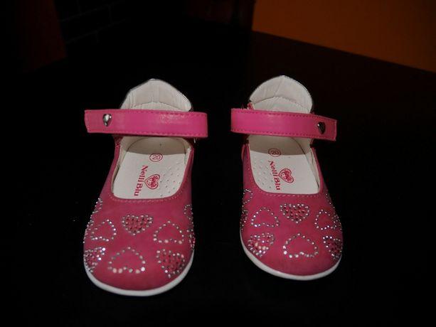 buciki butki różowe sandałki, na roczek eleganckie