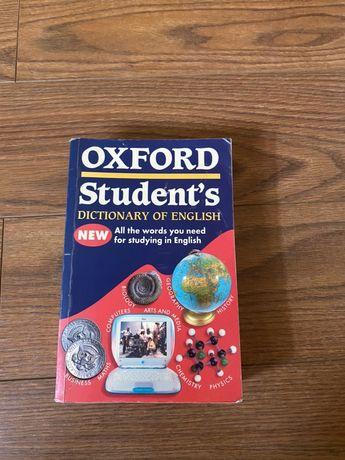Dicionário de inglês oxford student's