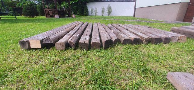 Stare belki drewniane z rozbiórki