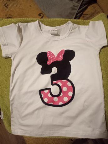 T-shirt na 3 urodzinki