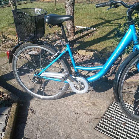 Rower z przezutką z szimano