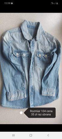 Koszula jeansowa rozm.3-4 lata