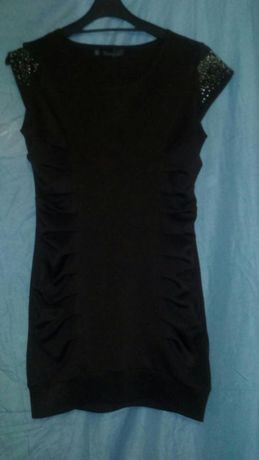 Платье темно-коричневое