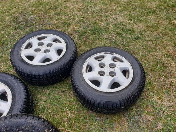 Felgi Aluminiowe Alufelgi z oponami 4x114,3 R14 Nissan Mazda Honda