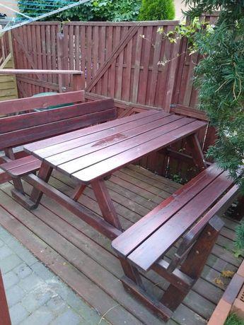 Ławeczka ławka ogrodowa stół