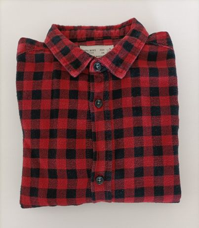 Camisa flanela t 4anos Zara Kids