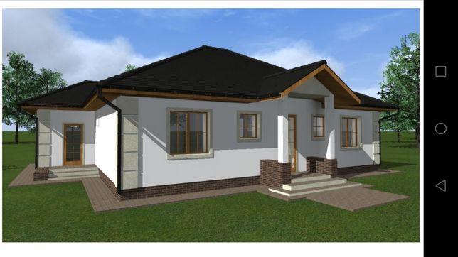 Продам проект одноповерхового будиночка до 120м2.