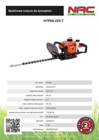 Nożyce spalinowe nac HTP60-225-T 0,9 KM