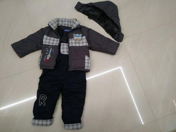 Kurtka, spodnie, komplet zimowy na 12m-cy