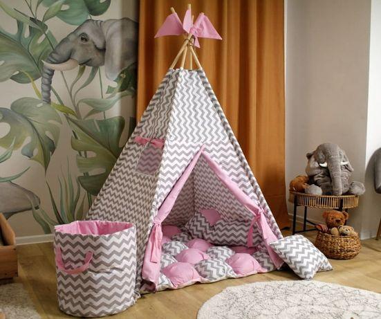 Детский вигвам палатка, домик. Акция! Подушечка в подарок.