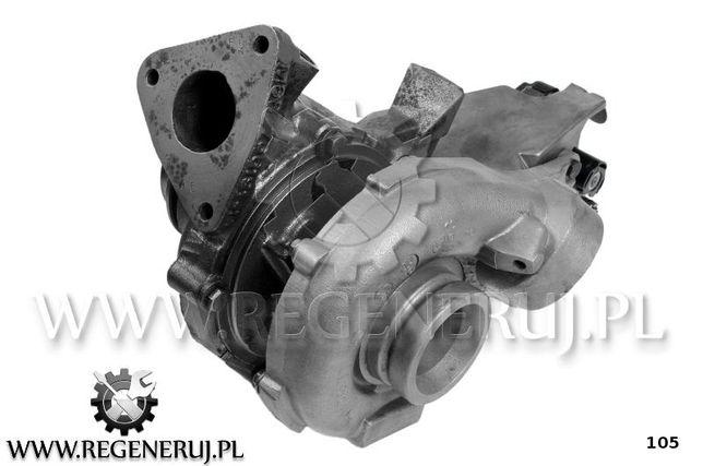 Turbosprężarka C-KLASA W204 C 200 CDI 136 170KM OM 651.913 OM 651.911