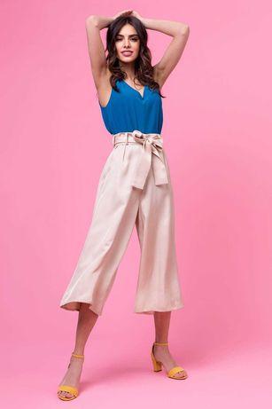 Spodnie, 100% wiskoza, szyte w Polsce, polska marka odzieżowa