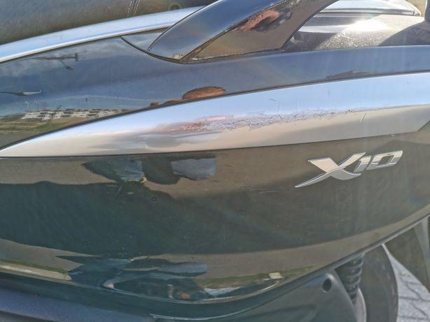 Piagioo x 10 uszkoszonu motor poszed już do naprawy