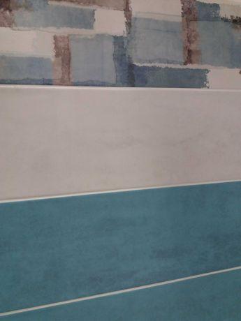 Плитка Cersanit Самира белая 20x60 для ванной, для внутренних работ