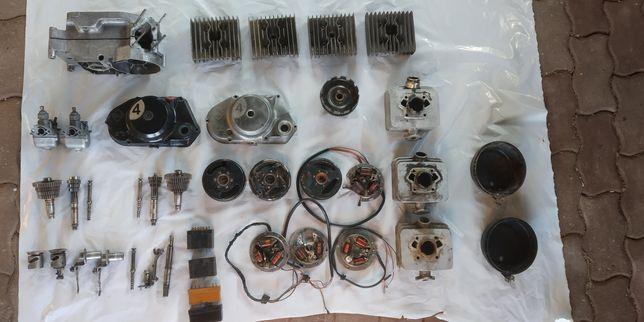 Części Simson S51 S50 DDR (Pokrywa,skrzynia,Magneto, zapłon,sprzeglo)