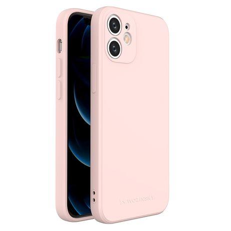 Capa Silicone Lmobile Iphone 12 Mini - Rosa