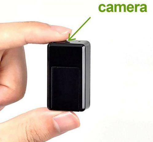 GPS трекер мини GF-08 с камерой GSM/GPRS маячок чип прослушка маячок