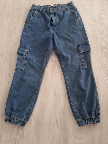 Spodnie dzinsowe bojowki S