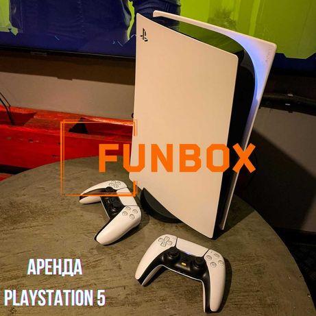 Аренда PlayStation 4, 5 (PS4, PS5) приставки с доставкой домой