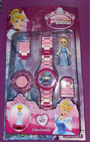 Relógio tipo Lego da Cinderela