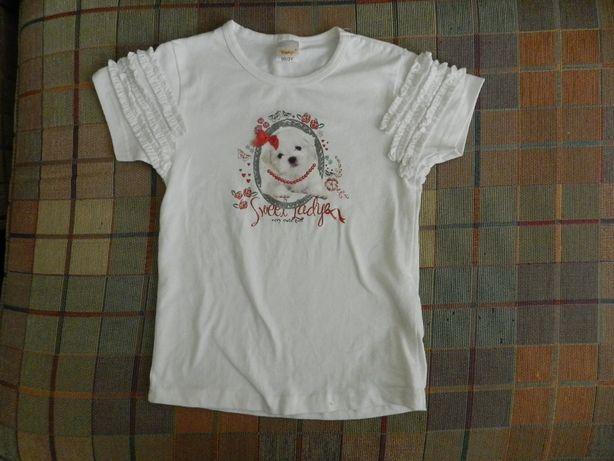 футболка футболочка для девочки 98 новая