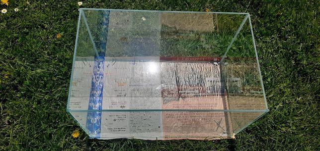 Akwarium 40x25x25 25l nowe