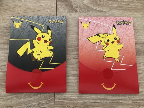 Cartas Pokémon - Booster Mcdonald's Pokemon 25th anniversary