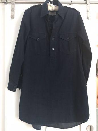 Granatowa jeansowa sukienka Ralph Lauren Polo r.s