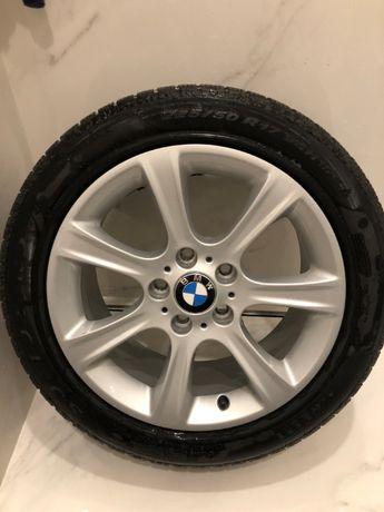 Komplet kół do BMW R17 oryginał z oponami zimowymi Pirelli Soto Zero