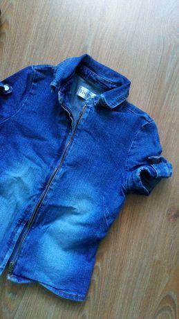 bluzka żakiet jeansowy visconti r 36