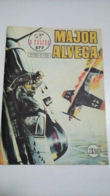 Revistas de Banda Desenhada / Comics - Major Alvega, Simpsons, outras